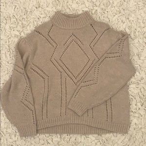 H&M Comfy Turtleneck Knit Sweater